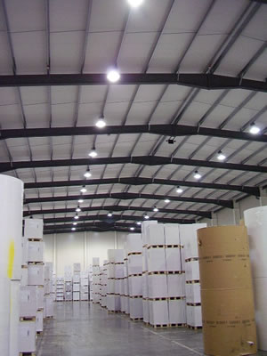 Commercial and industrial lighting design and installation service industrial lighting systems mozeypictures Choice Image